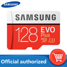 SAMSUNG Micro SD card 128GB Memory Card EVO Plus 128 GB Class10 TF Card C10 microsd UHS-I U3 Free Shipping cartao de memoria