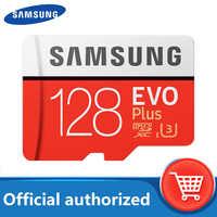 SAMSUNG tarjeta Micro SD de 128 GB de memoria de la tarjeta EVO, con más de 128 GB Class10 TF tarjeta C10 microsd UHS-I U3 envío gratis cartao de memoria