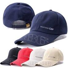 New Long Brim Cap Men Sports Hat Cap For