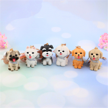 Miniatura Kawaii Accessories Decoracion Hogar Ins Bt21 Figurines Salud Resin Casa Corgi Sculpture Adornos Gift Keychain Home image