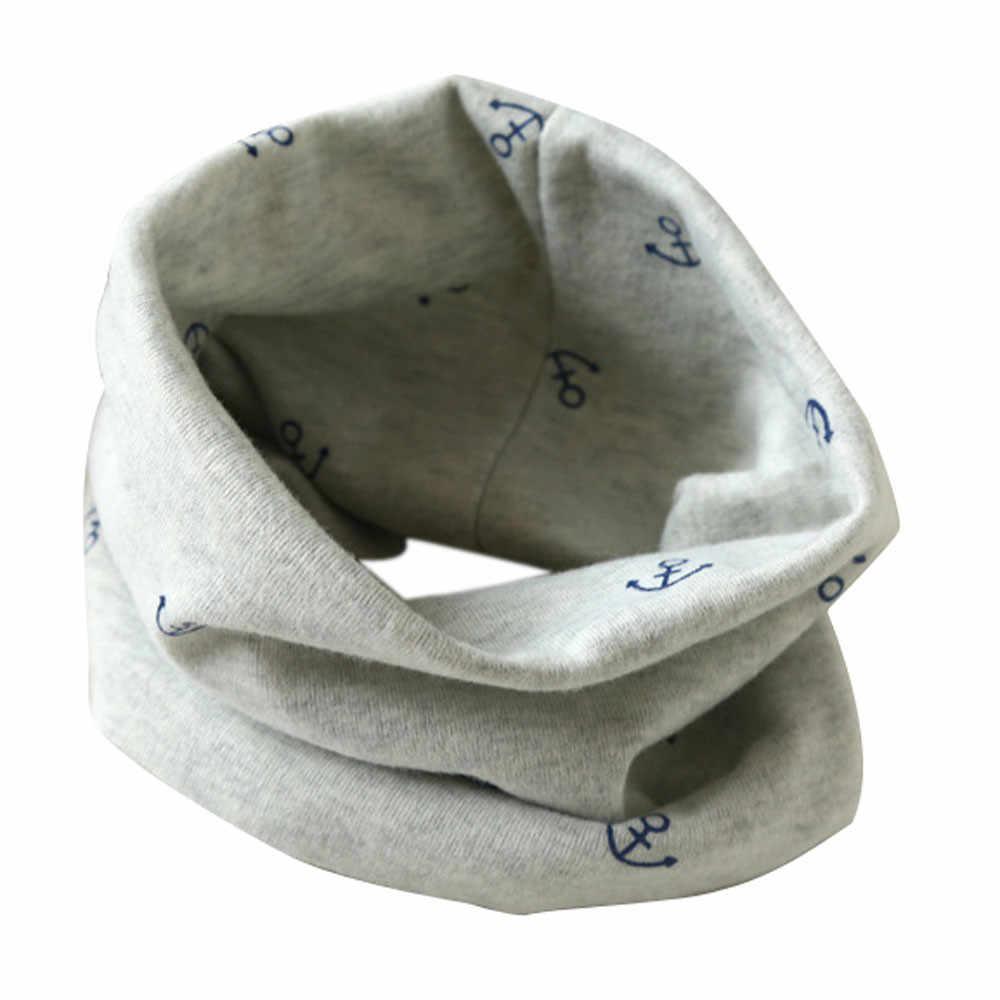 新ファッションコットンスカーフ秋冬男の赤ちゃんかわいいスカーフ子供 O リング襟子供スカーフ魔法のネッカチーフ