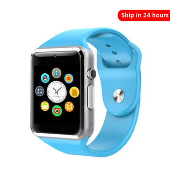 цена на Smart Watch A1 Clock Sync Notifier Support Sim TF Card Bluetooth Connectivity Android Phone Smartwatch Alloy wristband PK GT08