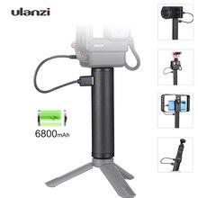 Ulanzi BG2 Batterij Handgreep Selfie Stick Voor Gopro 9 7 6 Osmo Pocket Camera Fimi Palm Snoppa Vmate Accessoires Powe supply Grip