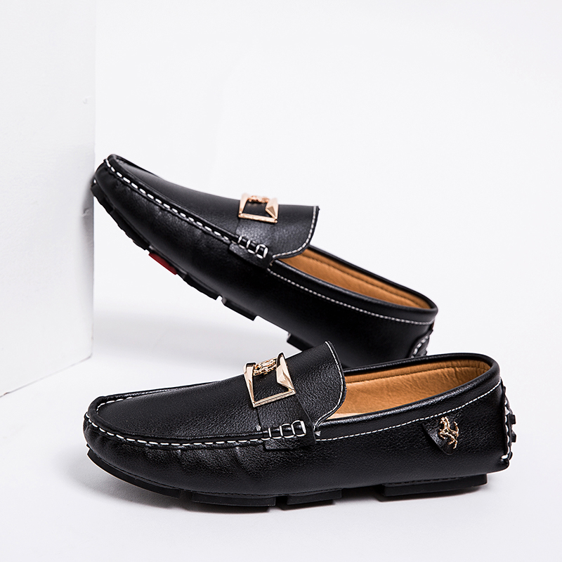 Men Shoes Luxury Brand Large Size EU38-48 Mens Moccasin Shoes Summer Slip-On Mens Shoes Casual Loafers Driving Footwear