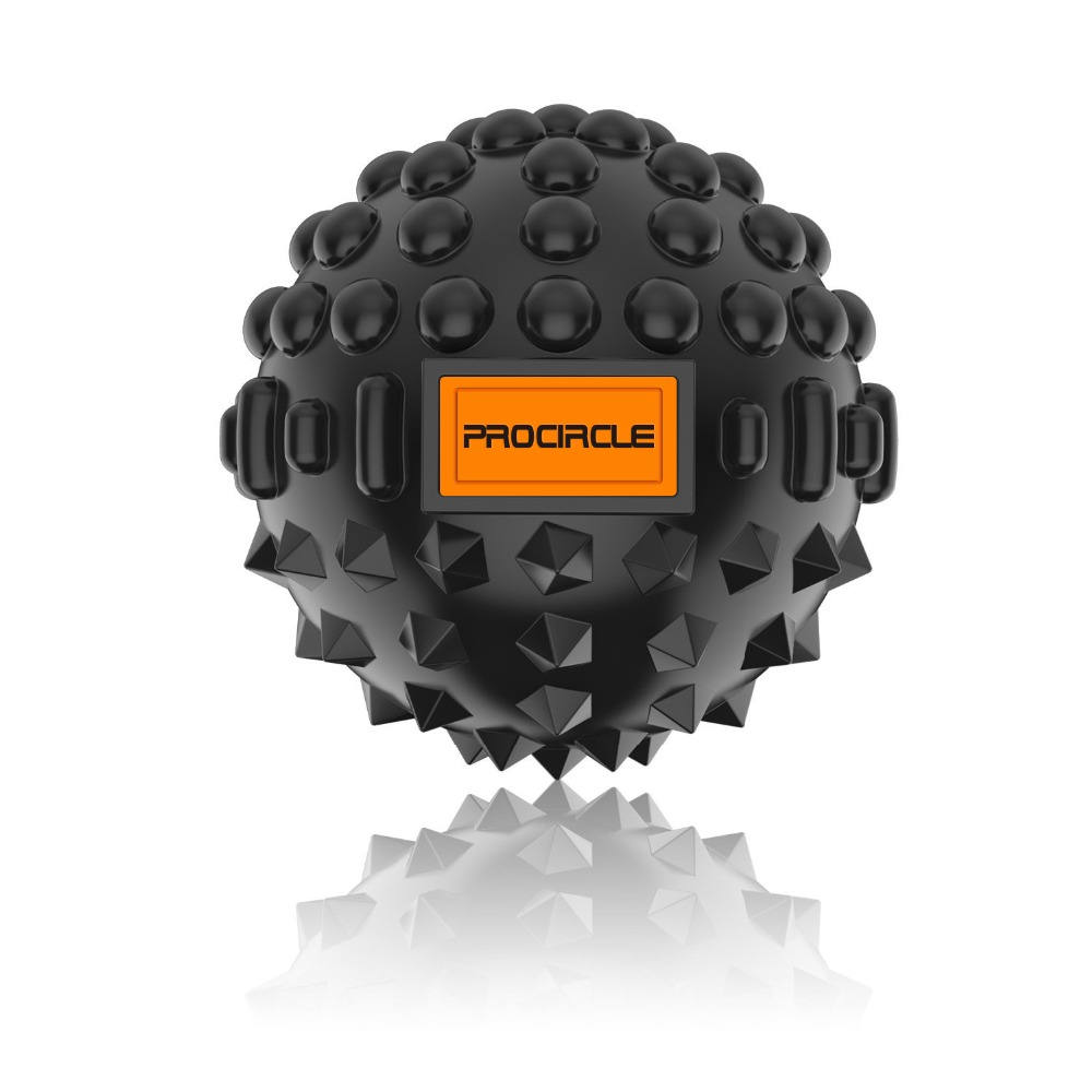 ProCircle PU Fitness Balls Massage Ball Deep Tissue Self-myofascial Release Body Fascia Relaxation Yoga Exercise Relieve Dia-8CM