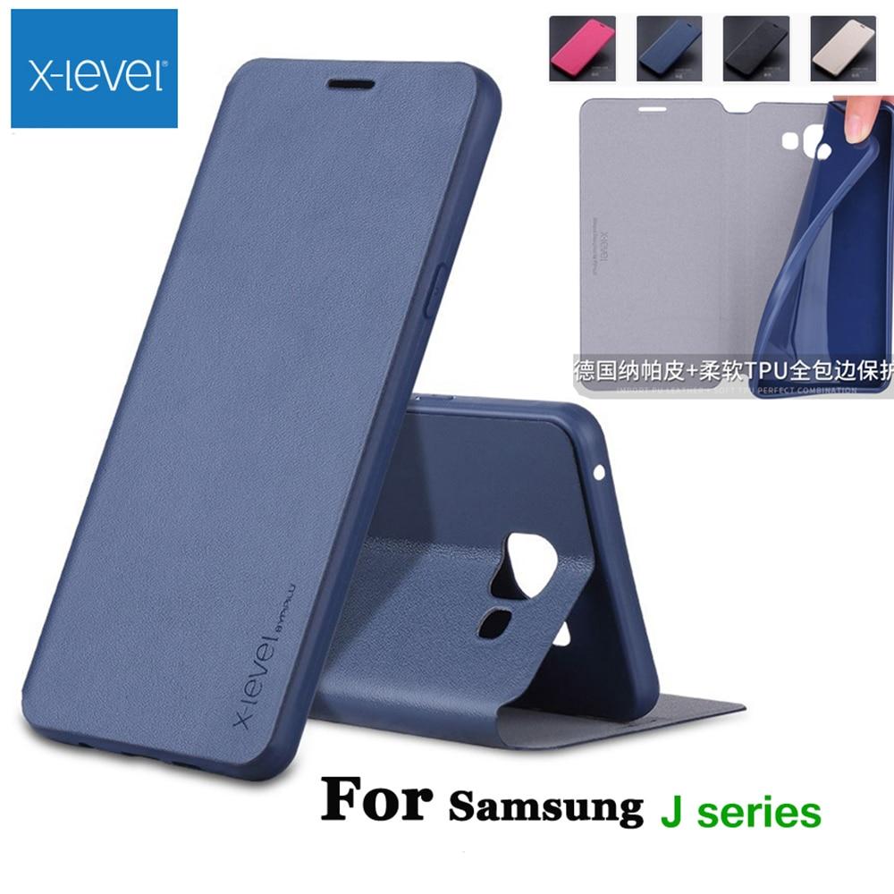 X-szintű, kiváló minőségű, klasszikus Flip bőr tok Samsung Galaxy J1 j2 j3 j4 j5 j6 j7 2015 2016 2017 2018