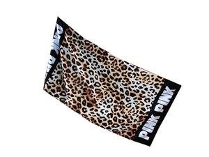 Image 4 - Moda Sunbath Leopard Beach ręczniki 100% bawełna kobiety ręcznik do jogi sporty pływackie koc do owijania szybka sucha kąpiel ręczniki 145*70cm