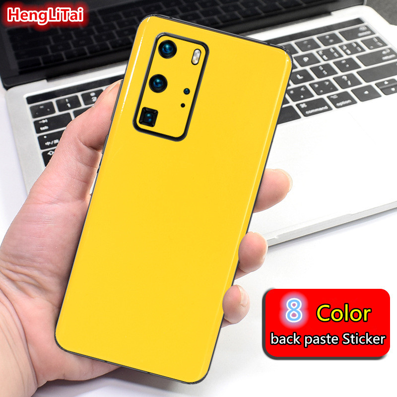 Bright colors Skins Protective Film For Huawei P30/P30 Pro/P40/P40 Pro Wrap Skin Cellphone back paste Film Sticker