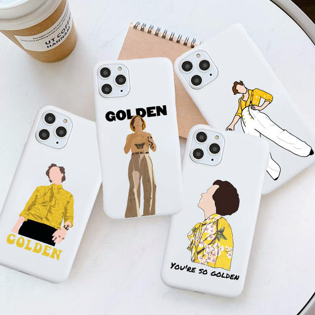 HARRY STYLES THEMED IPHONE CASE (18 VARIAN)