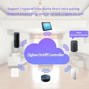 Image 5 - ZigBee Nhà Thông Minh Công Tắc Điều Khiển Từ Xa Không Dây Hẹn Giờ TỰ LÀM Phần Cho Amazon Alexa SmartThings Nháy Mắt Hub ZigBee HÀ Hub