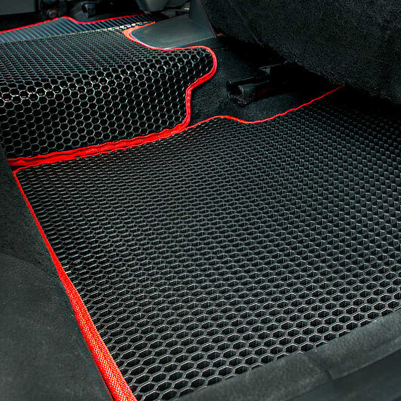Perfect Fit Black Durable 100/% Rubber Car Floor Mats for Kia Ceed//Pro Ceed 07-12