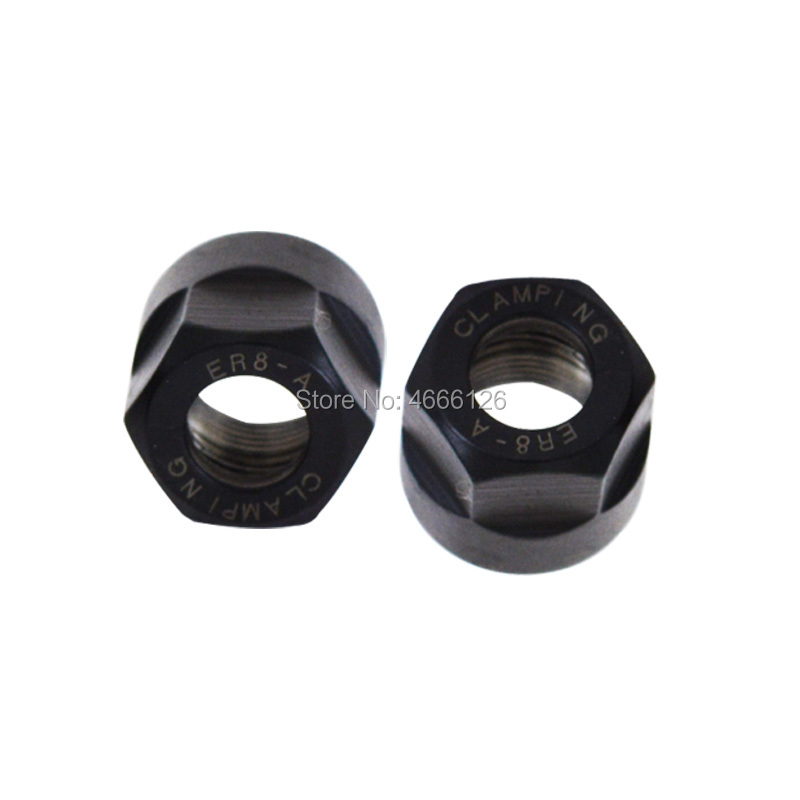 Купить с кэшбэком ER8 ER11 ER16 ER20  ER25 ER32 ER40  A M UM nut   ER  collet nut for clamping cnc milling turning collet chucks