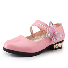 2019 Bow Children Shoes For Flowe Girls Shoes For Party And