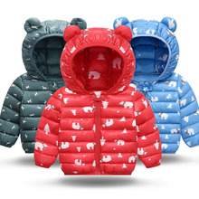 Jacket Coat Outerwear Hooded Autumn Baby Baby-Boys-Girls Kids Winter for Cute Warm Christmas