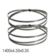 Полотно для ленточной пилы, 1400x6,35x0,35 мм, 2 шт.