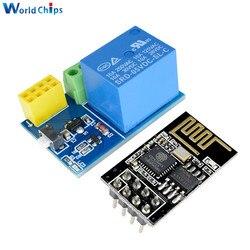 Esp8266 ESP-01S 5 v módulo de relé wi fi coisas casa inteligente interruptor controle remoto para arduino telefone app esp01s módulo wi-fi sem fio