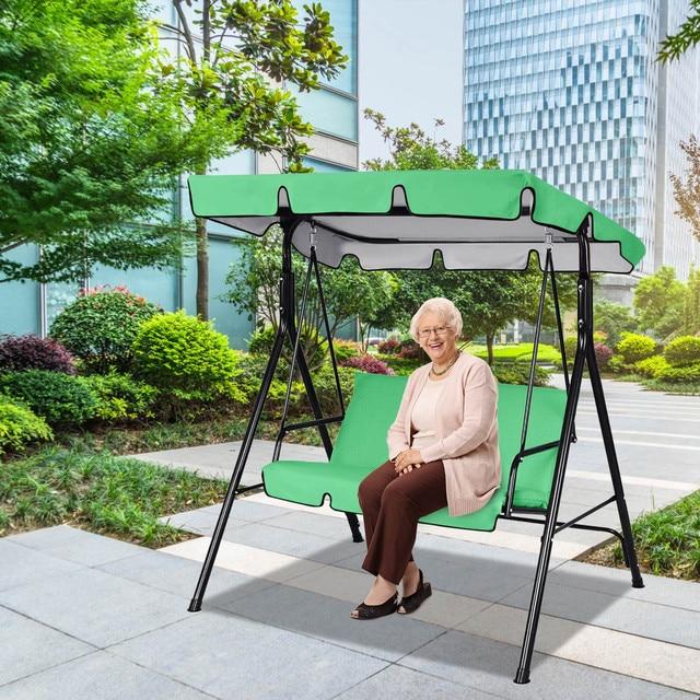 Home Garden Swing Set Cover Sunscreen Cover Anti uv Gazebos Courtyard Swing Ceiling Cover Awning Rain