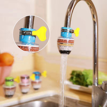 Kitchen Faucet Tap Water Purifier for Household 6 Layers Water Purifier Filter Activated Carbon Filtration Mini Faucet Purifier xiaomi mijia faucet water purifier filter kitchen tap filter water purifier with 4pcs free activated carbon