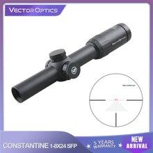 Vector Optics Constantijn 1-8X24 Sfp 1/10MIL Riflescope Optische Rifle Hunting Scope IPX6 Voor Sporting Concurrentie. 338 7.62 .308
