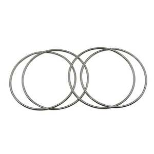 4pcs Magic Toy Metal Rings Classic Linking Iron Hoops for Fun Magic Trick Playing Props