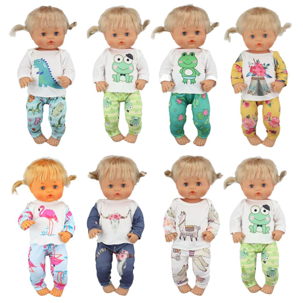 Novo terno roupas adequadas para boneca nenuco, 42 cm, 17 Polegada, nenuco, y, su, hermanita, acessórios para boneca