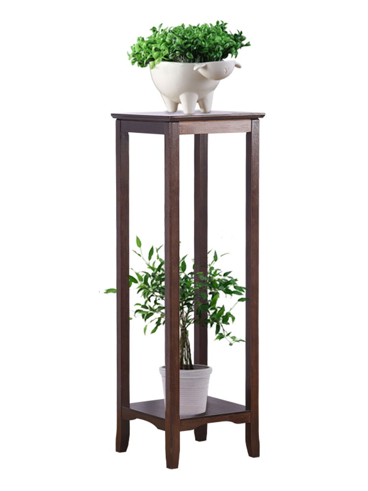 Flowerpot Frame A Living Room Landing Type Flower Rack Solid Wood Quality Bamboo Green Luo Simplicity Flower Several Single