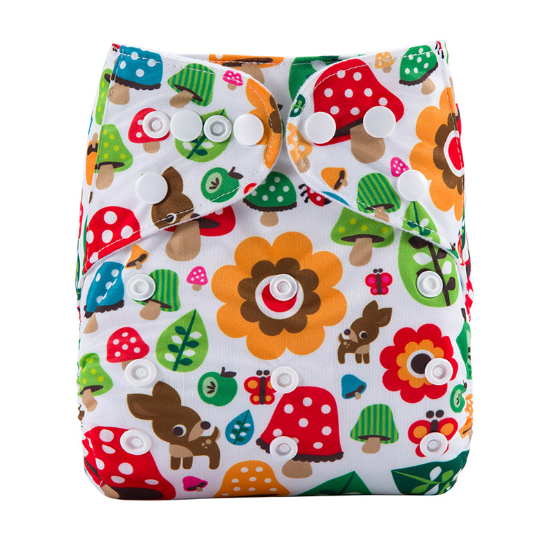 Baby Cotton Nappies Terry Towel Organic Cloth Nappies Reusable Washable Baby Pant Diaper For Baby S28