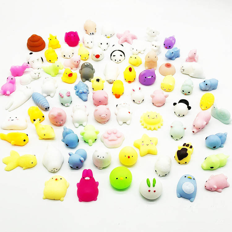 Small Animal Toy Squeeze Antistress Abreact Ball Cute Soft Funny Toys Best Gift For Baby