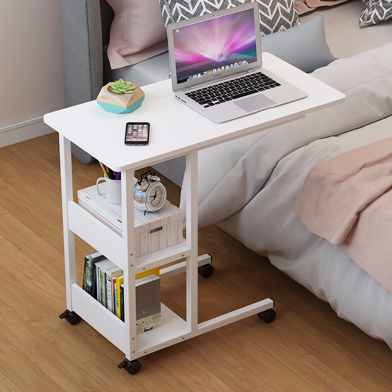 Simple Laptop Table Lazy Bed Desk Simple Bedroom Small Desk Lift Can Move Bedside Table