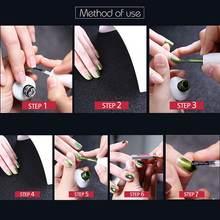 8 шт УФ гель для ногтей комплект био Гели soak off магнитные