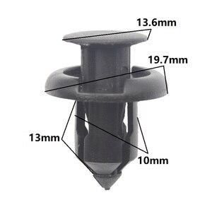 Clip de sujeción para parachoques delantero y trasero, broches de presión de 10mm para Honda Acura TL CL RDX RSX