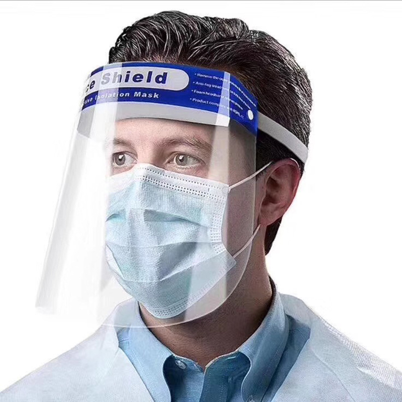 Protective Mask No Odor, Prevent Droplets, Fog, Wind Sand   Unisex Protective Headgear Face Screen Isolates Virus Face Mask Mask