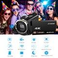 Andoer 4K 1080P 48MP WiFi וידאו דיגיטלי מצלמה מצלמת וידאו מקליט קיבולי מסך מגע IR אינפרא אדום לילה Sight דיגיטלי מצלמה-במצלמות וידאו לצרכנים מתוך מוצרי אלקטרוניקה לצרכנים באתר