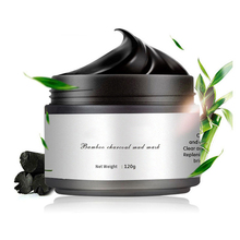 лучшая цена Black Mask Bamboo Charcoal Purifying Blackhead Remover Peeling Acne Nose Face Care Mud Deep Cleansing Mask Skin Care Blemishes
