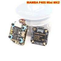 Diatone MAMBA F405 Mini MKII Betaflight controlador de vuelo y 25A CES uma pila DSHOT600 2-4 S FPV corridas de pecado escobillas ESC parágrafo