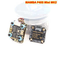Diatone MAMBA F405 Mini MKII Betaflight controlador de vuelo y 25A CES a 2-4 S DSHOT600 pila FPV Racing sin escobillas ESC para
