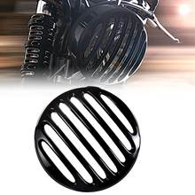 Hitam Dangkal Cut Headlight Grill Cover untuk 2017 18 19 Honda Rebel CMX ABS 300 500(China)
