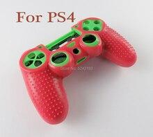 10 Uds 14 colores silicona Camo funda protectora de piel para Sony Dualshock 4 PS4 DS4 controlador pulgar Grips Joystick