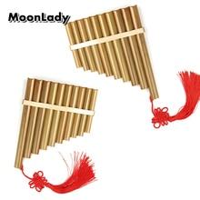 Китайский традиционный музыкальный инструмент 10 труб флейта Пана C Ключ высокого качества Pan трубы Деревянный духовой инструмент бамбуковая флейта Пана