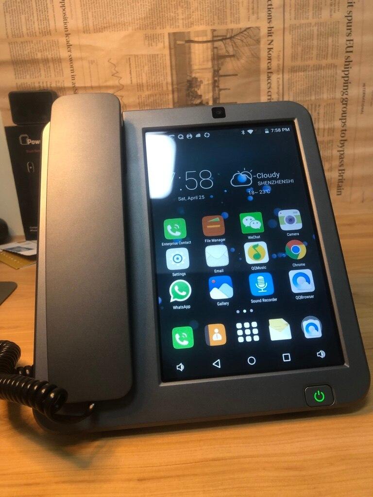 Android LTE Fisso fisso Senza Fili 4G SIM di rete videocitofono glob universale anziani WIFI video del telefono mobile home office