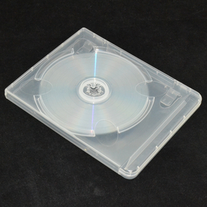 Image 3 - 10 pcs CD DVD Disc Plastic Case Capacity Disc CD Storage Box for PS3