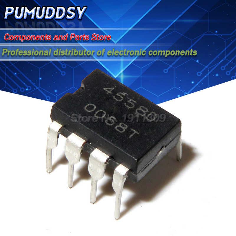 20PCS IC  RC4558D 4558D DIP8 OP AMP DIP8  ZN