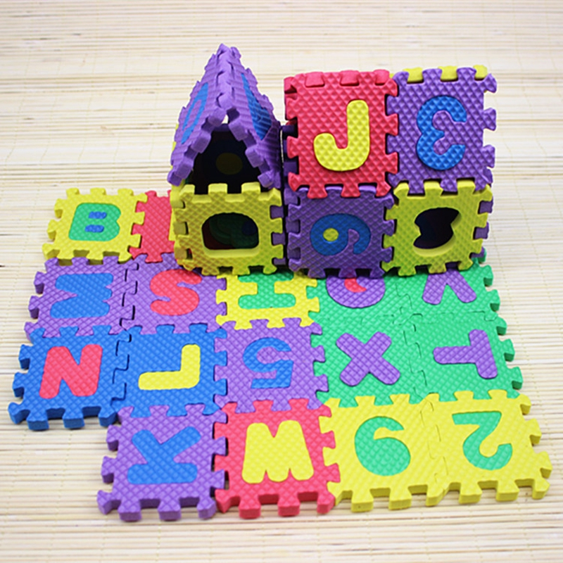 Puzzle For Children Adult Jigsaw Bubble Puzzle Game Kids Toys Number Alphabet Foam Baby Child Educational Toy Puzzles Gift 36Pcs