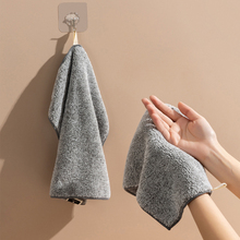 Cleaning-Cloths Kitchen Towels-Wiping-Rags Microfiber Bamboo-Charcoal Anti-Grease Bathroom