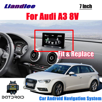 Car Android For Audi A3 8V 2012~2018 stereo radio Original Style Carplay Mirror Link Player Screen Map GPS Media Navigation image