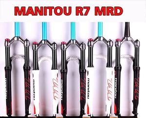 Велосипедная газовая вилка 1420g Manitou R7 MRD горный велосипед 26 дюймов 27,5