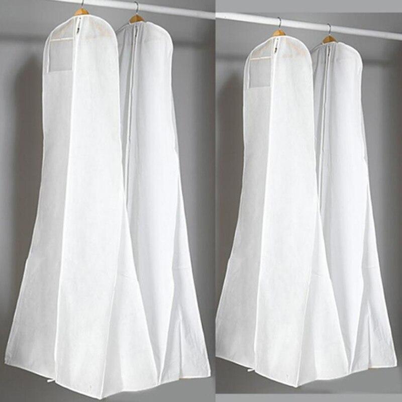 Новое поступление 180 см длинный шлейф свадебное платье мешок-Пыльник вечернее платье пылезащитный чехол сумка для хранения свадебной