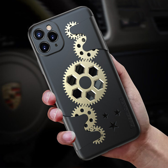 Fall Protection Hard Case for iPhone X XR XS Max iPhone 11 Pro
