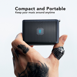 Image 3 - DOSS Genie Tragbare Bluetooth Lautsprecher IPX4 Mini Wireless Lautsprecher Stereo Sauberen Klang Box mit Eingebautem Mikrofon für Geschenk Präsentieren