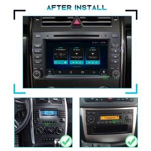 "Image 2 - 8 ""PX6 2 דין אנדרואיד 10 רכב רדיו עבור מרצדס בנץ אצן B200 W209 W169 W245 ויטו W639 A180 a160 אוטומטי אודיו סטריאו autoradio מערכת מולטימדיה לרכב"